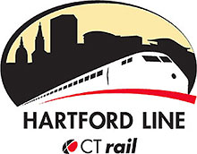 CT Rail Hartford Line Logo