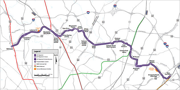 Maryland DOT Purple Line